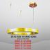 Đèn thả LED trang trí DTHD 7039 VÀNG BÓNG