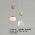 Đèn thả LED trang trí DTHD 73/1