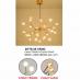 Đèn thả nghệ thuật LED DTTK 55 VÀNG