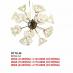 Đèn thả nghệ thuật LED DTTK 58