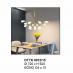 Đèn chùm LED DTTK 8012/15