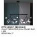 Đèn thả nghệ thuật LED DTTK HERA 27 ĐEN NGANG