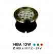 Đèn âm hồ nước HBA 12W