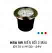 Đèn âm hồ nước HBA 9W DM