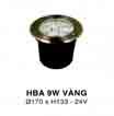 Đèn âm hồ nước HBA 9W V