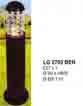 Đèn trụ sân vườn thấp LG 2703 ĐEN CAO