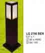 Đèn trụ sân vườn thấp LG 2790 ĐEN