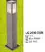Đèn trụ sân vườn thấp LG 2790 XÁM CAO