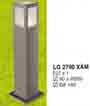 Đèn trụ sân vườn thấp LG 2790 XÁM