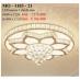 Áp trần pha lê Led tròn MO 1103-21