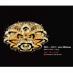 Áp trần pha lê Led tròn MO 1121-800