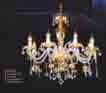 Đèn chùm pha lê nến NC 074/8