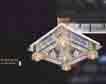 Áp trần pha lê Led vuông NC 090