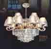 Đèn chùm thả pha lê NC 144/10+5