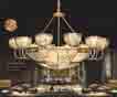 Đèn chùm đồng NC 2002/12