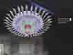 Áp trần pha lê Led tròn NC 2140