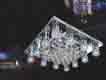 Áp trần pha lê Led vuông NC 5508B