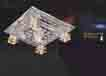 Áp trần pha lê Led vuông NC 6023B