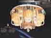 Áp trần pha lê Led tròn NC 6205A