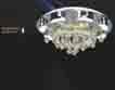 Áp trần pha lê Led tròn NC 6654A