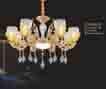 Đèn chùm pha lê nến NC 6813/8