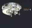 Áp trần pha lê Led tròn NC 7023A