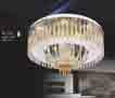 Áp trần pha lê Led tròn NC 7110