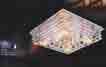 Áp trần pha lê Led vuông NC 7159