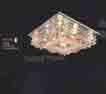 Áp trần pha lê Led vuông NC 7161
