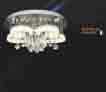 Áp trần pha lê Led tròn NC 80098A