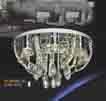 Áp trần pha lê Led tròn NC 80103B