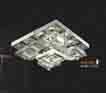 Áp trần pha lê Led vuông NC 80117A