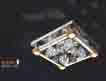 Áp trần pha lê Led vuông NC 80178