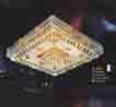 Áp trần pha lê Led vuông NC 8018