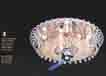 Áp trần pha lê Led tròn NC 8127A