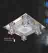 Áp trần pha lê Led vuông NC 812A