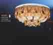 Áp trần pha lê Led tròn NC 8603
