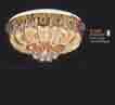 Áp trần pha lê Led tròn NC 8607