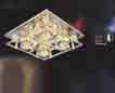 Áp trần pha lê Led vuông NC 878