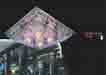 Áp trần pha lê Led vuông NC 9053