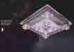 Áp trần pha lê Led vuông NC 989
