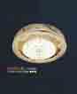 Áp trần pha lê Led tròn NM 1033