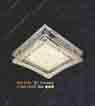 Áp trần pha lê Led vuông NM 1036
