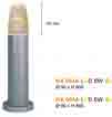 Đèn trụ thấp LED NX 004A