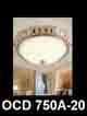 Đèn áp trần đồng OCD 750A-20