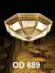Đèn áp trần đồng OD 689