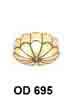 Đèn áp trần đồng OD 695