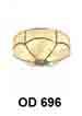 Đèn áp trần đồng OD 696