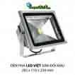 Đèn pha led  PHA LED 50W Đổi màu