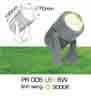 Đèn rọi cỏ sân vườn PR 006 6W